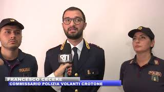CROTONE: CONFERENZA STAMPA DELLE VOLANTI