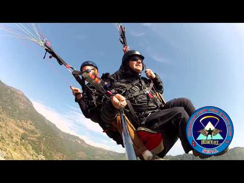 Paragliding Pokhara Nepal with Mountain Hawk