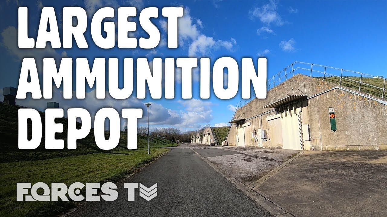 Inside DM Kineton: Western Europe's LARGEST Ammunition Depot