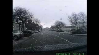 Flashbang Thunder Bang Right Above My Car