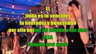 HA ASH MI NIÑA MUJER FT LOS ANGELES AZULES con letra