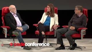 Donald Trump and The Giving Pledge   Bill and Melinda Gates, Gates Foundation   Code Conference 2016