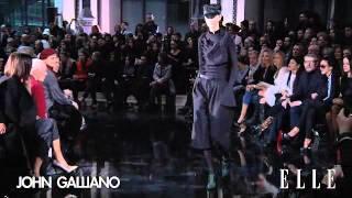 John Galliano. Paris Fashion Week otoño-invierno 2013-2014.