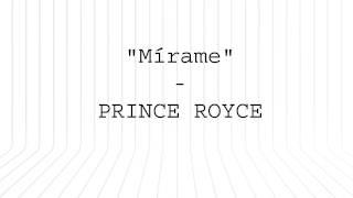 Prince Royce - Mirame (Letra Oficial)