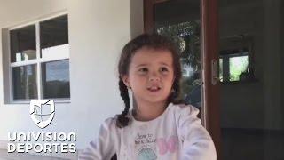 Miranda, la hija de Adriana Monsalve, es tan talentosa como su madre