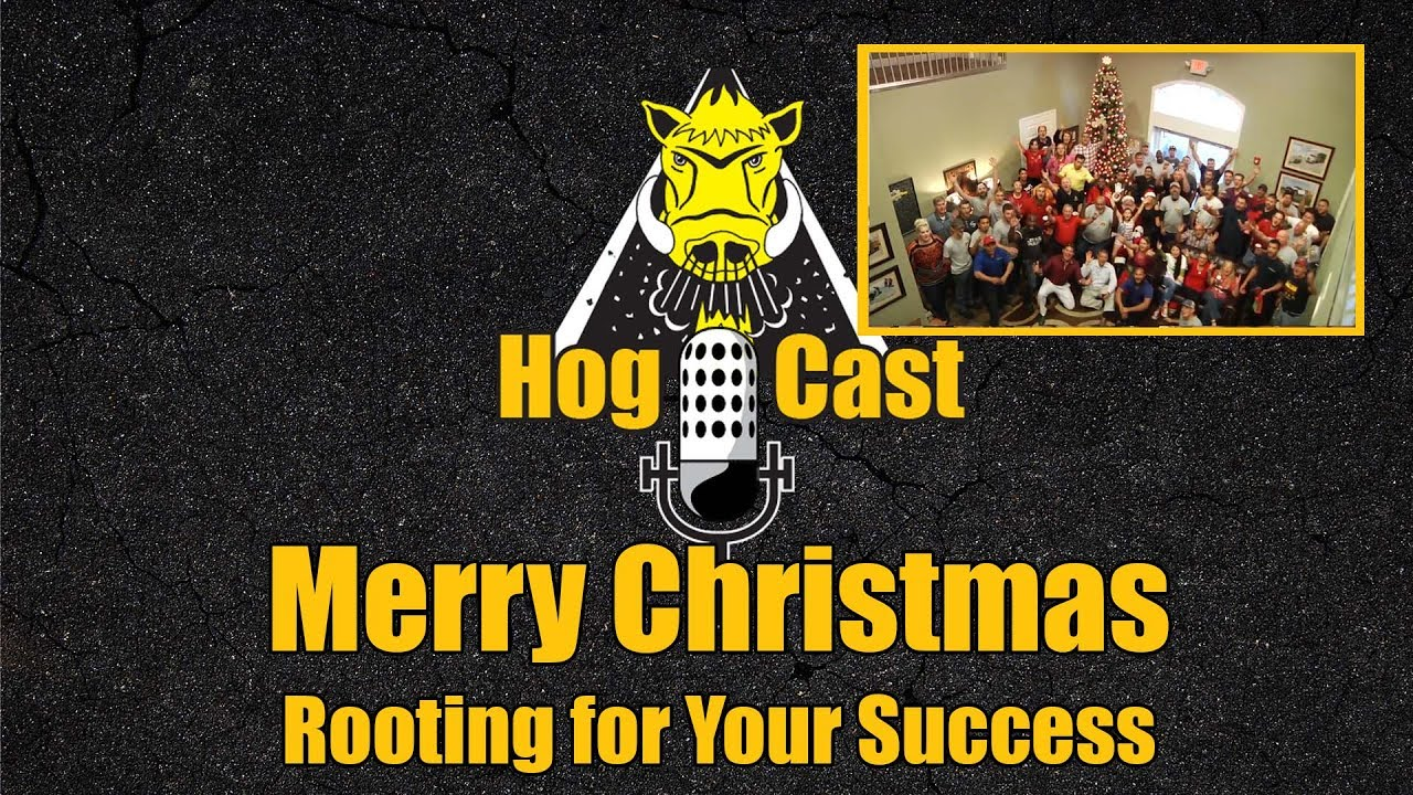 Hog Cast - Merry Christmas