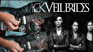 Black Veil Brides - FALLEN ANGELS - (Guitar Playthrough w/all solos) - Studio Quality