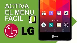 LG Spirit C70  Como Activar Menu Facil width=