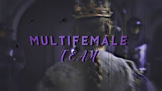 multifemale // team. {HBD to Me}