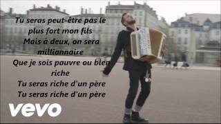 Claudio Capéo - Riche Paroles Lyrics Video