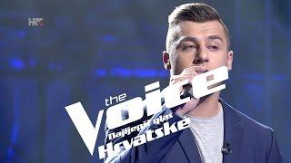 """Alen Đuras: """"Hello"""" - The Voice of Croatia - Season2 - Knockout 2"""