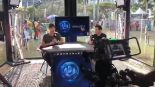 Backstage at Ultra Miami 2017