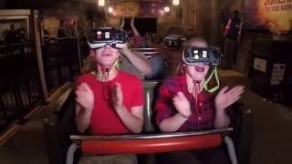 Official Rage of the Gargoyles VR Coaster Video with POV at Six Flags Great Adventure