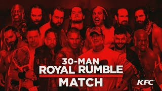 WWE Royal Rumble 2018 Official and Full Match Card