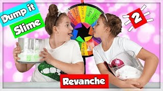 MYSTERY WHEEL  DUMP IT SLIME CHALLENGE! REVANCHE en francais