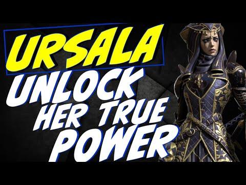 Best gear/guide to Ursala 15void=her free Sunday. Raid Shadow Legends Free champion
