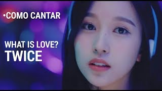 [Fácil] Como cantar What Is Love? de TWICE em Português (Letra simplificada)