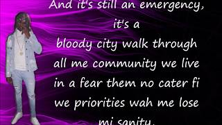 Rygin King - Still an Emergency ( Lyrics + Mp3 )