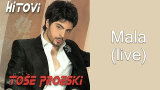 Tose Proeski - Mala - (LIVE) - (Audio 2008)