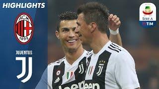 Milan 0-2 Juventus   Ronaldo And Mandžukić Stun San Siro   Serie A