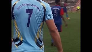 Dhoni play football tournament in Ranchi Silli...
