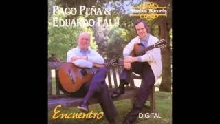 Paco Peña y Eduardo Falú   Vals criollo comp  Antonio Lauro