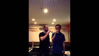 Let it Go (Frozen) karaoke version - at Kichijoji (Tokyo)