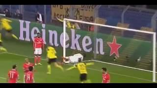 Borussia Dortmund vs Benfica 4 0 Aubameyang Goal  08 03 17
