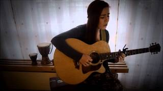 Coldplay - Up in flames ( Cover by Emma Ævars)