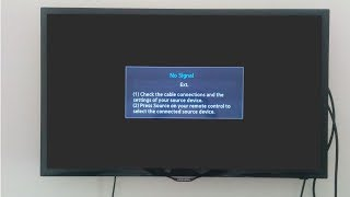 """Fix Samsung led tv """""""" NO SIGNAL """""""" hdmi connection problem with pc (Annotations need to be enabled)"""