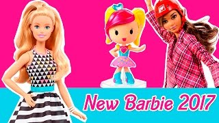 New Barbie 2017 dolls: Made to Move, Video Game Hero, Careers, Fashionistas, Water Play