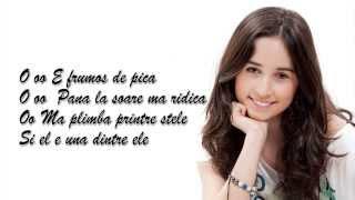 "Andra Gogan -  ""Frumos de Pica"" - Lyrics video"