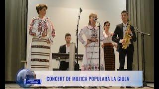 Concert de muzică populară la Giula