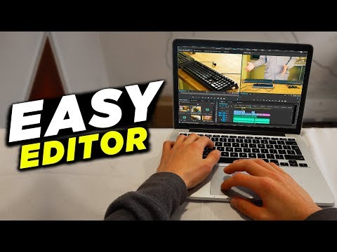 EASIEST Video Editing Software/Video Editor 2018-2019 (EASY TO LEARN & USE)