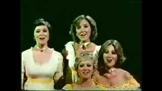 THE LENNON SISTERS with Mimi Lennon - mid 1970's - Boogie-Woogie Bugle Boy