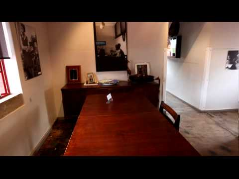 Nelson Mandela House Tour, Johannesburg South Africa.MOV