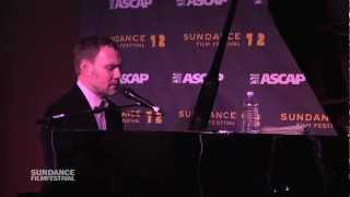 "David Gray - ""Kathleen"" at Sundance ASCAP Music Café - OFFICIAL"