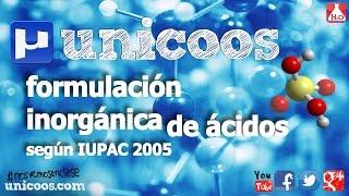 Imagen en miniatura para Oxácidos y ácidos polihidratados según IUPAC 2005