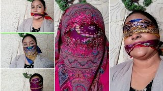 #stayhappy&lookbeautiful Gag Video With Hankey And Chiffon Dupattas/gagy Funny Challenge Video