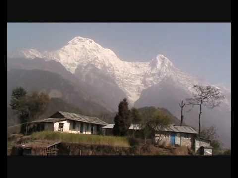 Nepal – Vyer över berg och byar