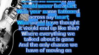 Before the WORST by script (karaoke)