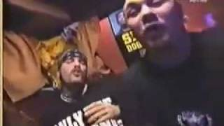 "Machine Head singing Snoop Dogg's  ""Gin and Juice"" (1995)"