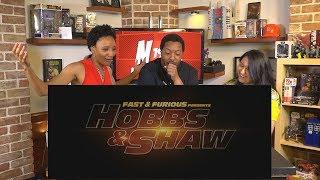 NERDS REACT HOBBS AND SHAW