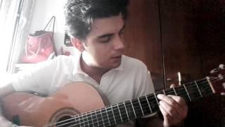 Salvador Sobral - Amar pelos Dois (cover guitarra)