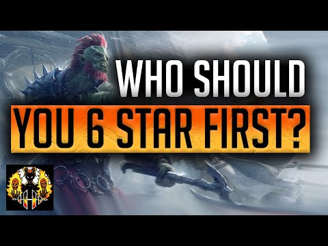 RAID: Shadow Legends | Who to 6 star first? Free to play series