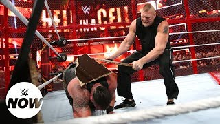 Brock Lesnar crashes the Hell in a Cell and goes berserk: WWE Now