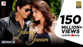 Janam Janam – Dilwale | Shah Rukh Khan | Kajol | Pritam | SRK | Kajol | Lyric Video 2015 width=
