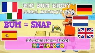 Bim Bum Biddy – INSTRUCTION | kinderliedjes | children's songs | kids dance songs by Minidisco