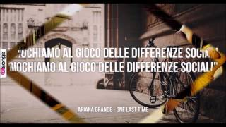 ONE LAST TIME ft Fedez - Lyrics e Audio - (Ariana Grande)