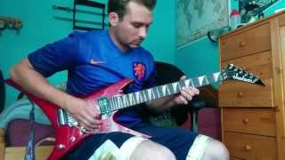 Iron Maiden - Wasted Years solo cover